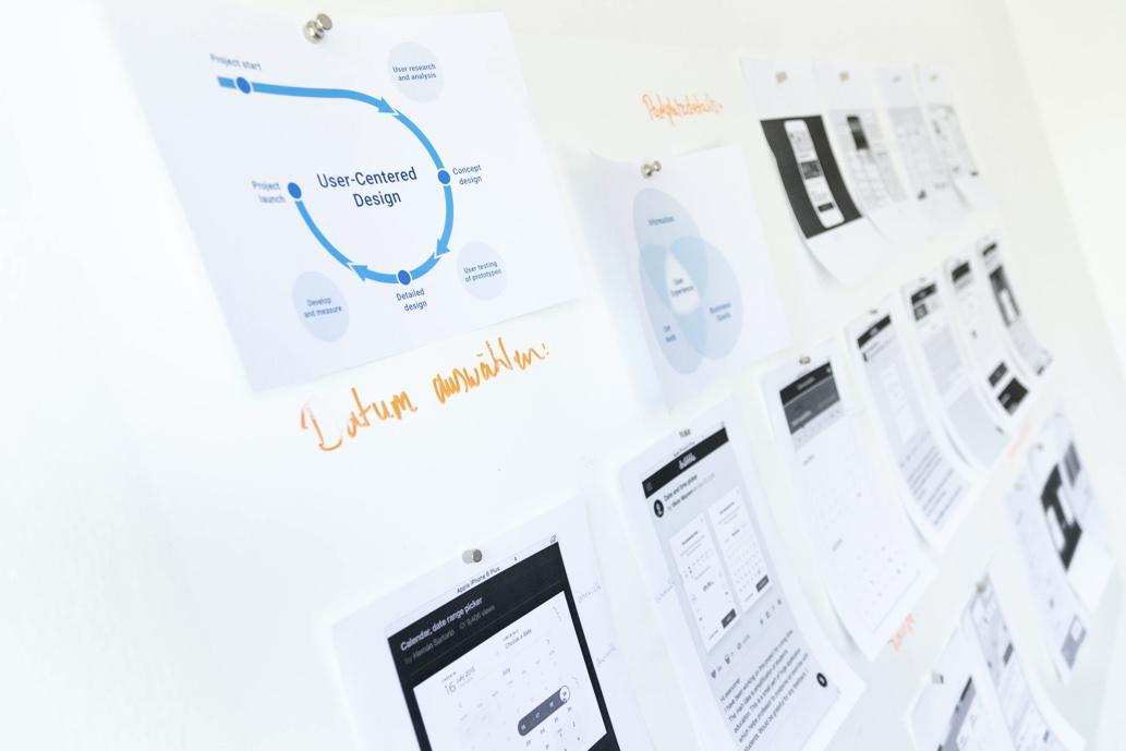 Website Design White Board